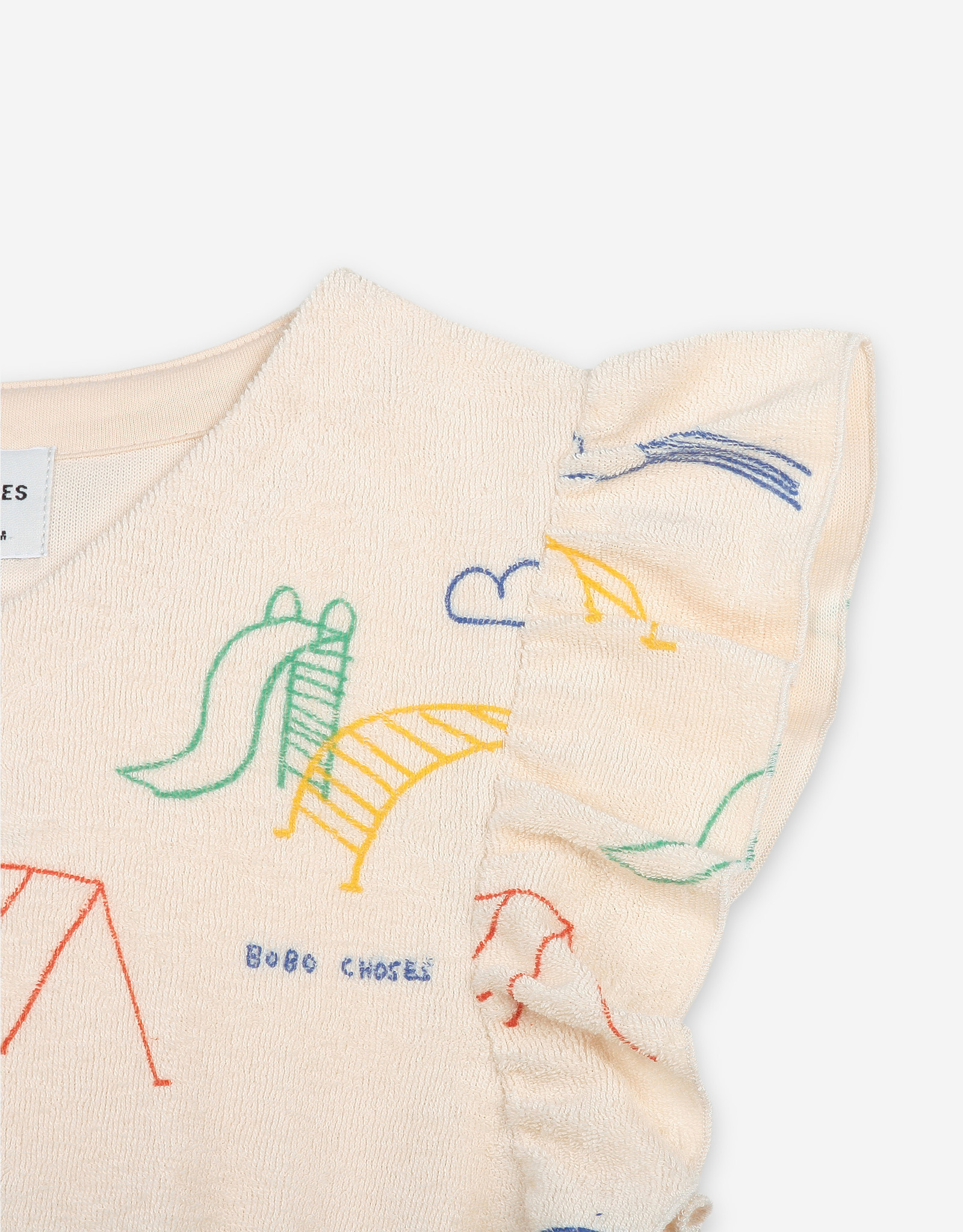 Bobo Choses Robe à volants Playground