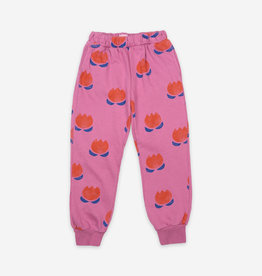 Pantalon de jogging Fleurs Chocolat