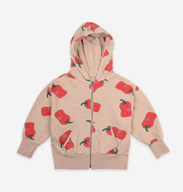 Vote For Pepper Zipped Hoodie