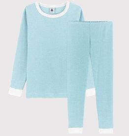 Petit Bateau Pyjama snugfit rayé