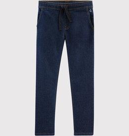 Petit Bateau Denim Fleece Trousers
