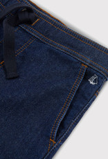 Petit Bateau Denim Fleece Trousers
