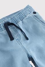 Petit Bateau Pantalon en molleton denim