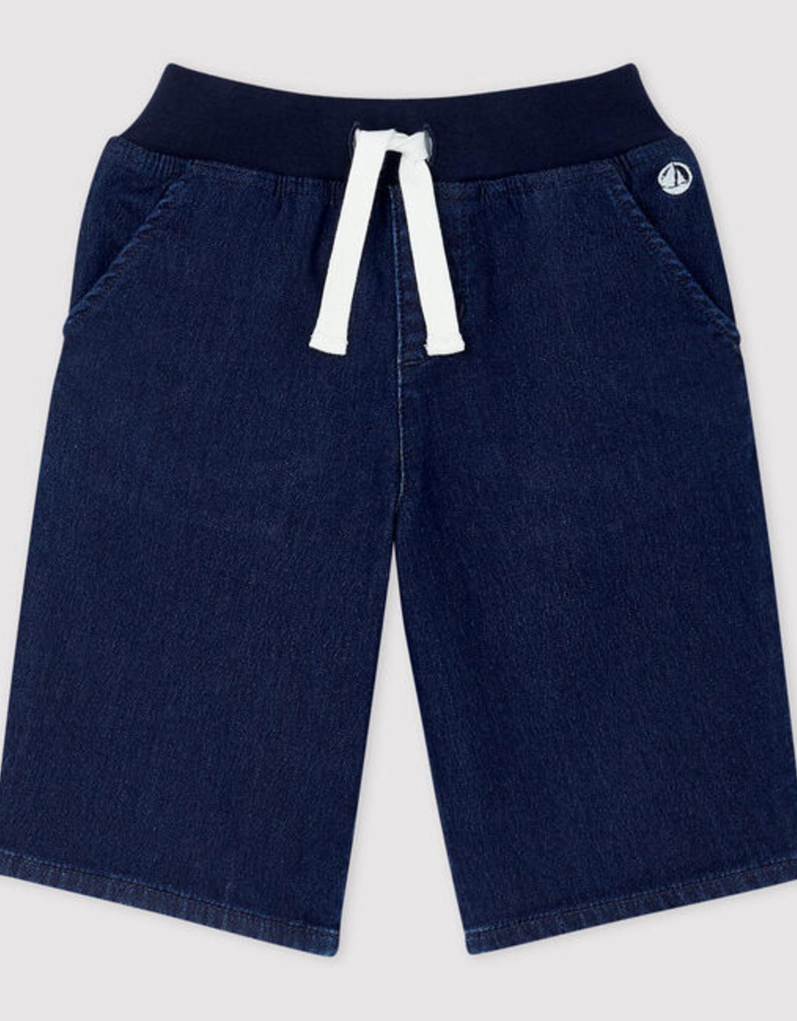 Petit Bateau Denim Bermuda Shorts