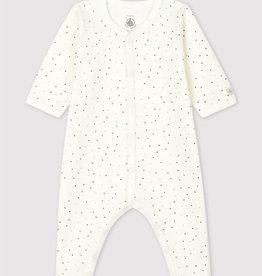 Petit Bateau Babies' Footless Sleepsuit
