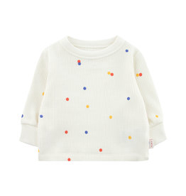 Tinycottons Ice Cream Dots Baby Sweatshirt