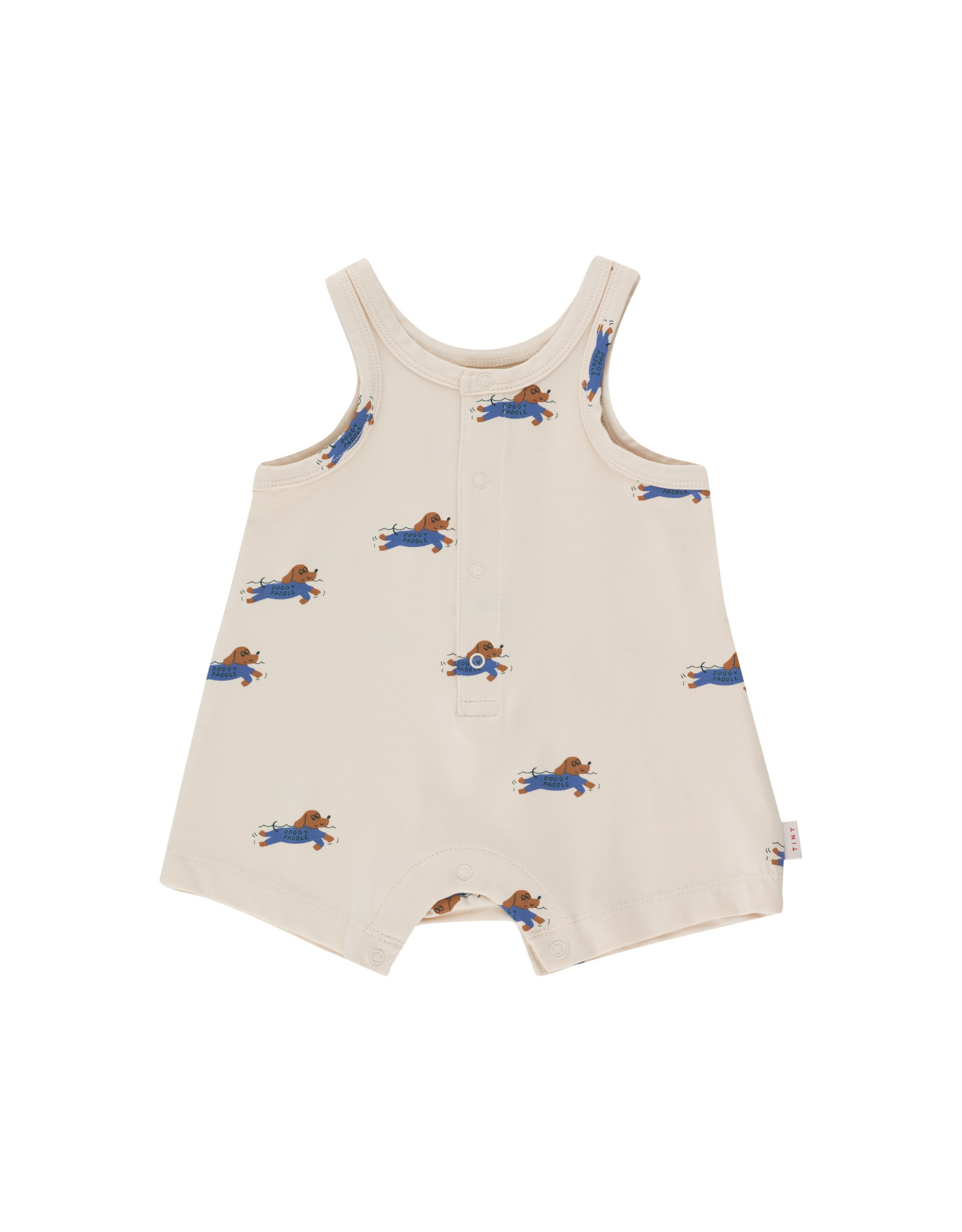 Tinycottons Doggy Paddle Romper