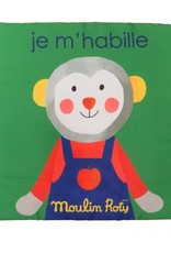 "Moulin Roty Fabric picture book ""Je m'habille"""