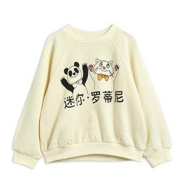 Mini Rodini Chandail Cat And Panda