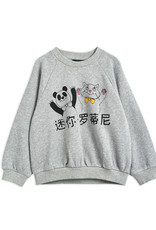 Mini Rodini Cat And Panda Sweatshirt