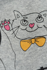 Mini Rodini Cat And Panda Sweatshirt