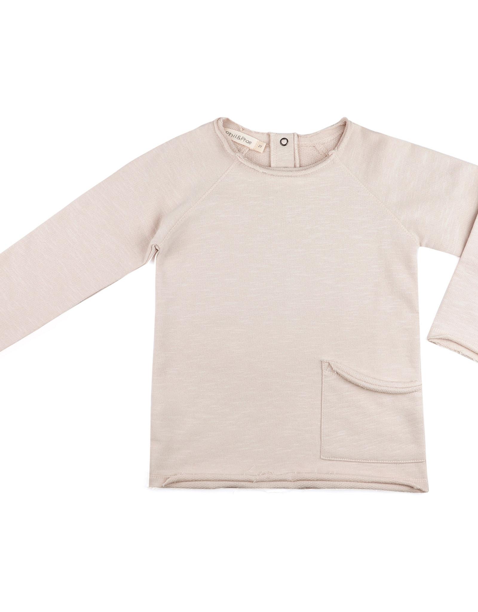 Phil & Phae Raw-Edged Sweater