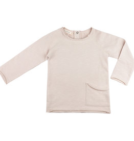 Phil & Phae Raw-Edged Sweater