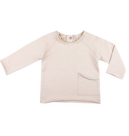 Phil & Phae Raw-Edged Baby Sweater