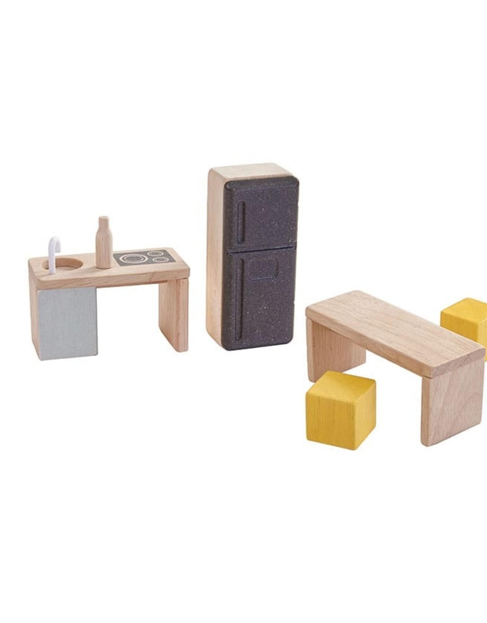 Plan Toys Slide N Go Dollhouse