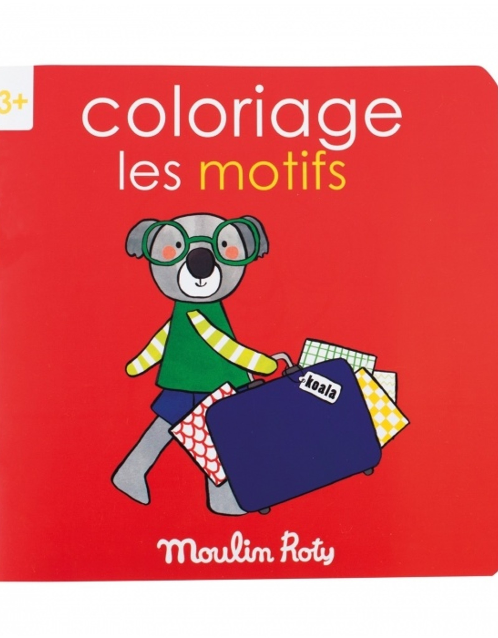 Moulin Roty Coloring Book Les Motifs