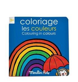 Moulin Roty Livre de Coloriage Les Couleurs