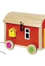 Goki Doll's caravan with accessoires