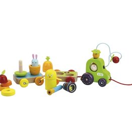 Vilac Multi-activity wooden tractor