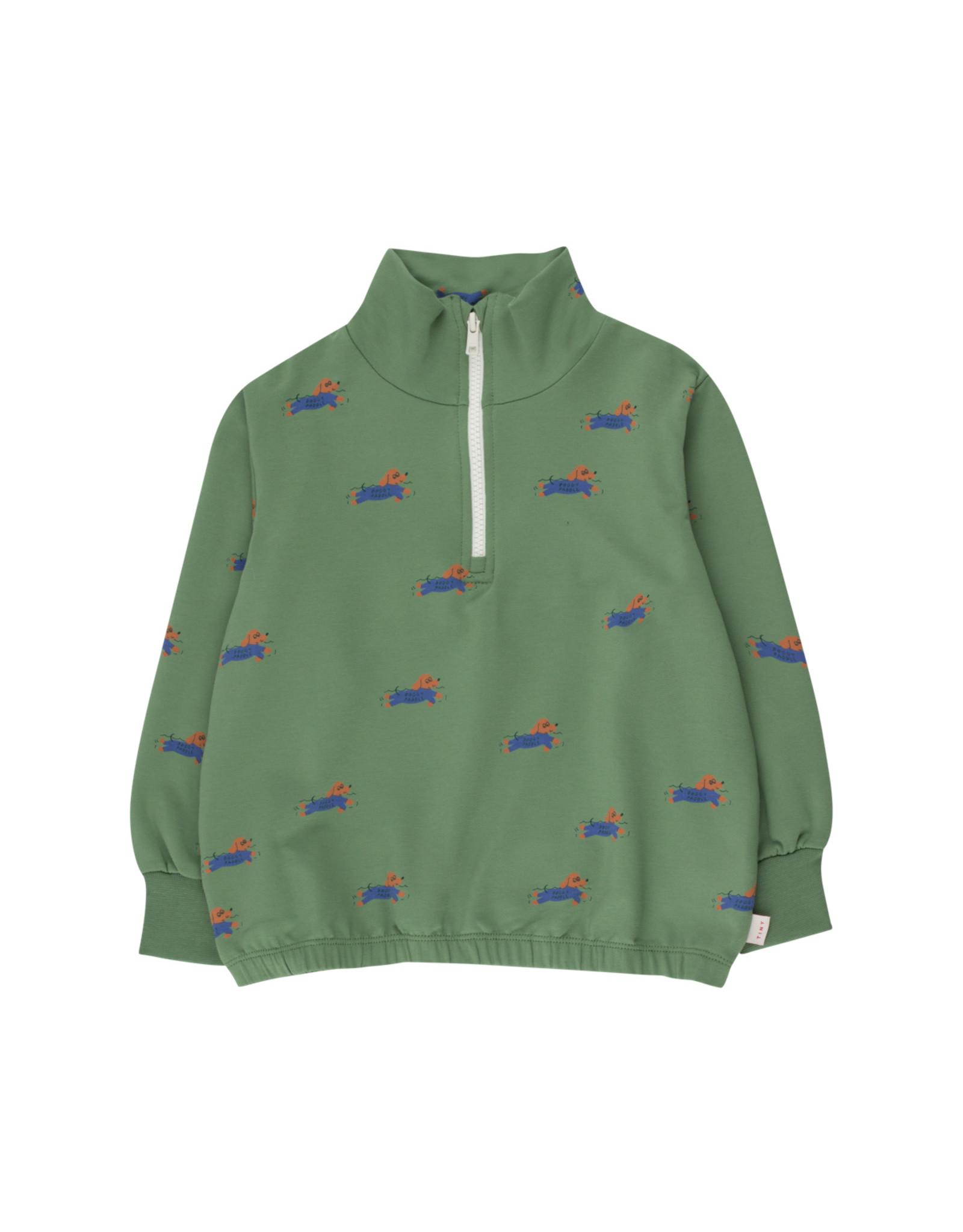 Tinycottons Doggy Paddle Mockneck Sweatshirt