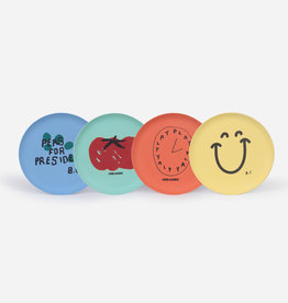 Bobo Choses For President Pack Of Bamboo Plates