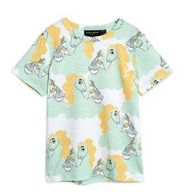 Mini Rodini T-shirt Unicorn Noodles
