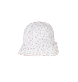 Hat, flowers print