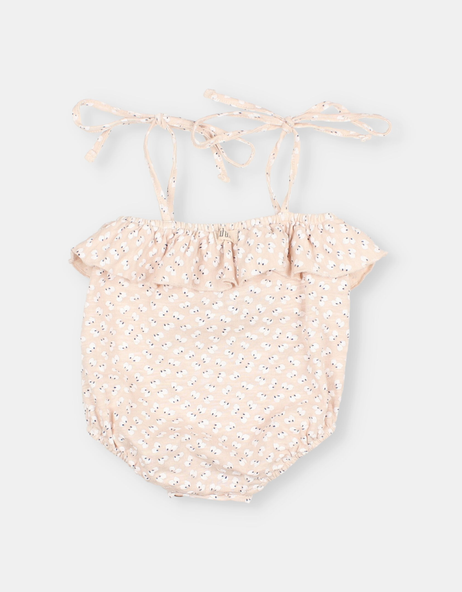 """Buho """"Seed"""" Cotton Flamé Romper"""