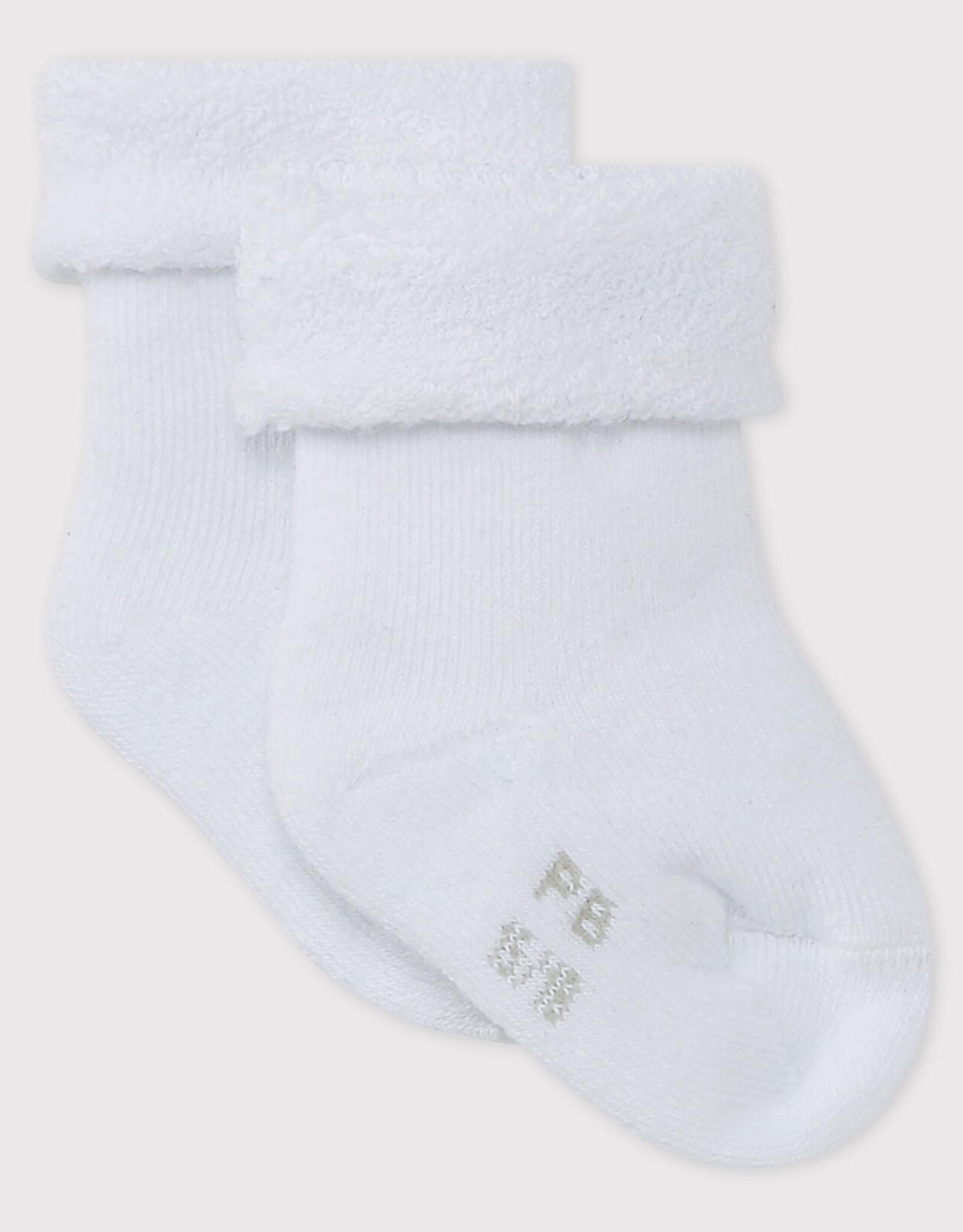 Petit Bateau Babies' Terry Socks