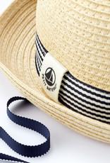 Petit Bateau Baby' Round Straw Hat