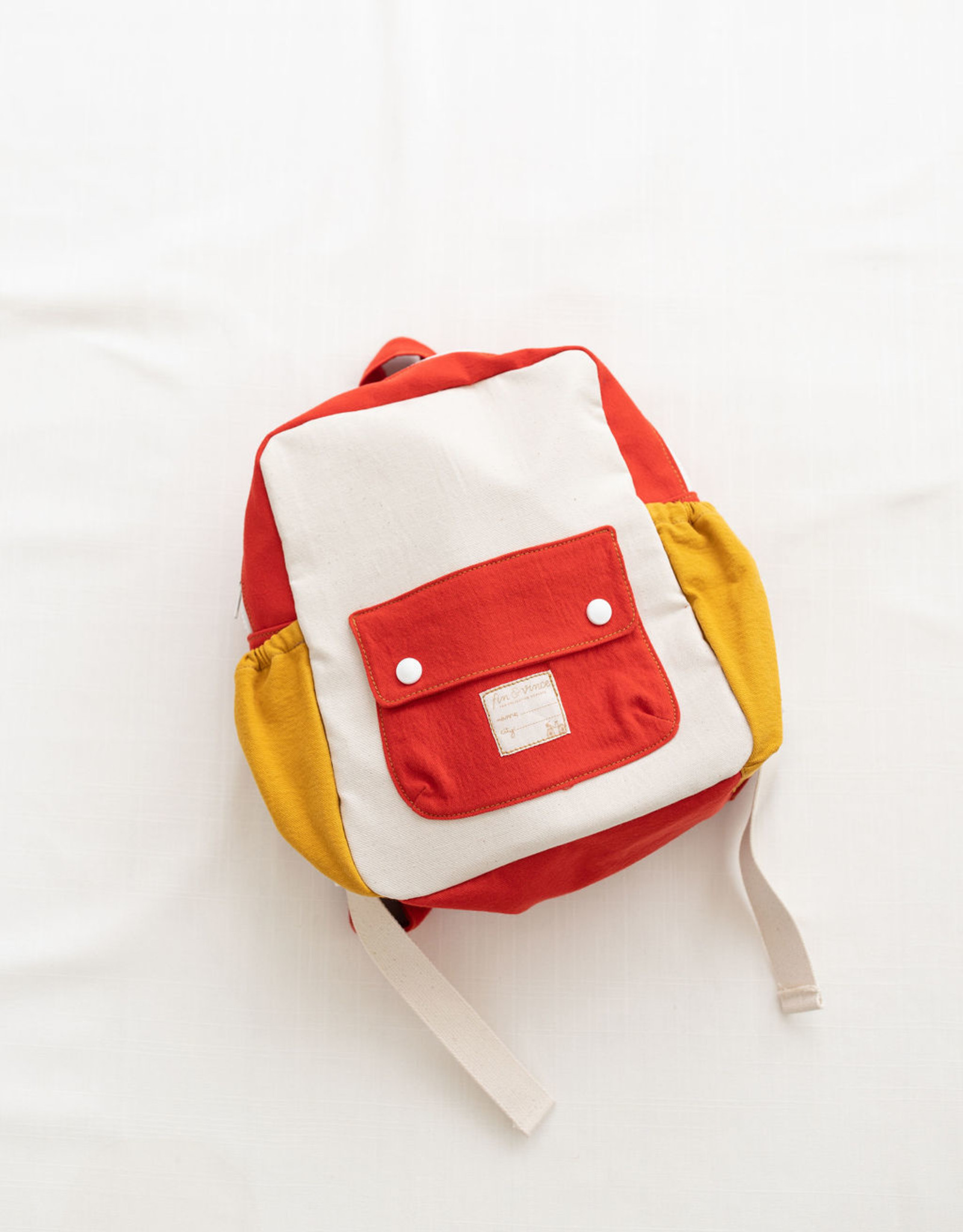 Fin & Vince Tour Backpack Toddler Colorblock