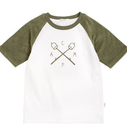 Miles Baby T-shirt Camp