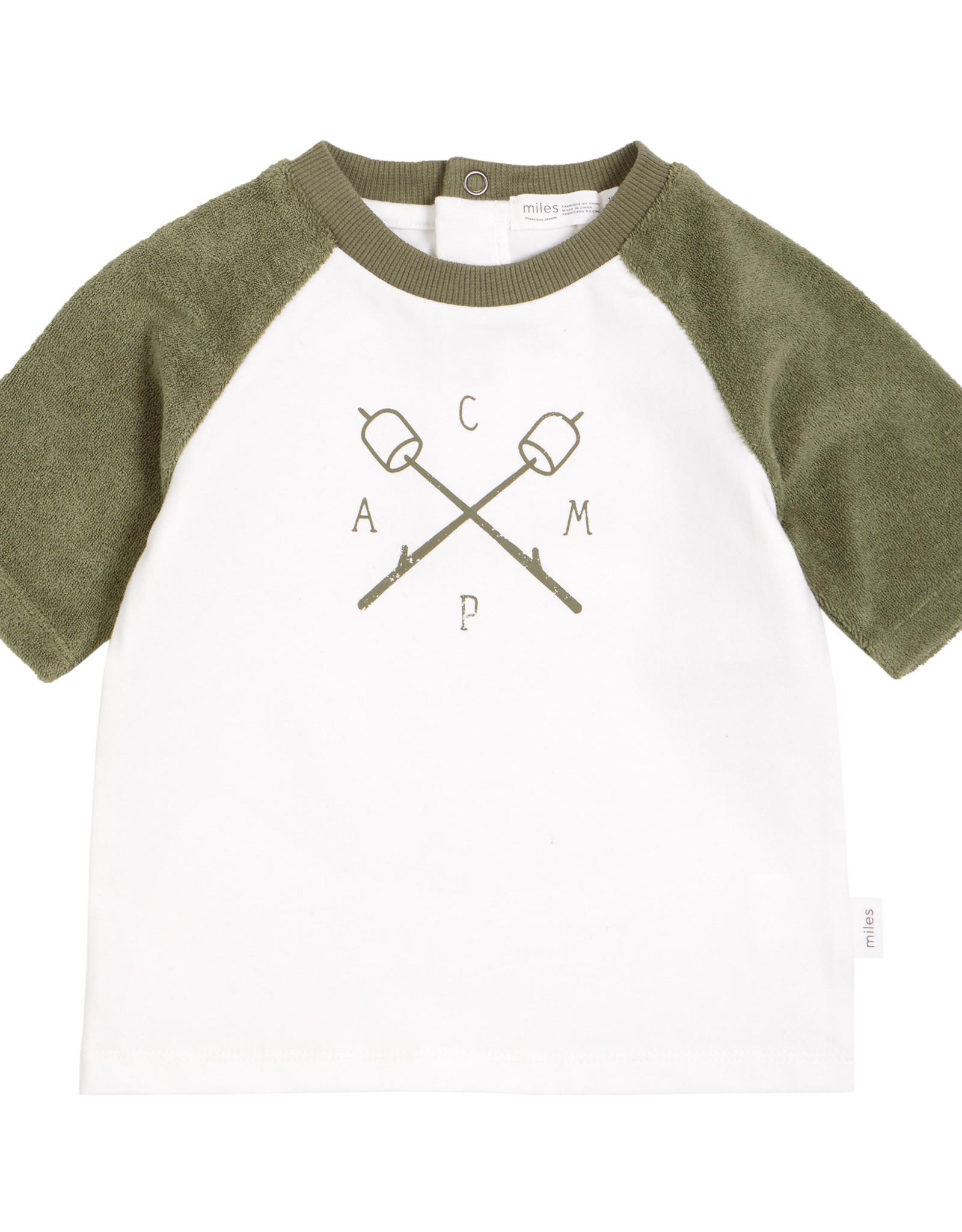 Miles Baby Camp Baby T-shirt