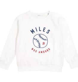Miles Baby Baseball Sweater