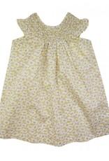 La Petite Collection Liberty Deckchair Daze Gathered Dress