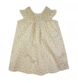 La Petite Collection Robe froncée Liberty Deckchair Daze