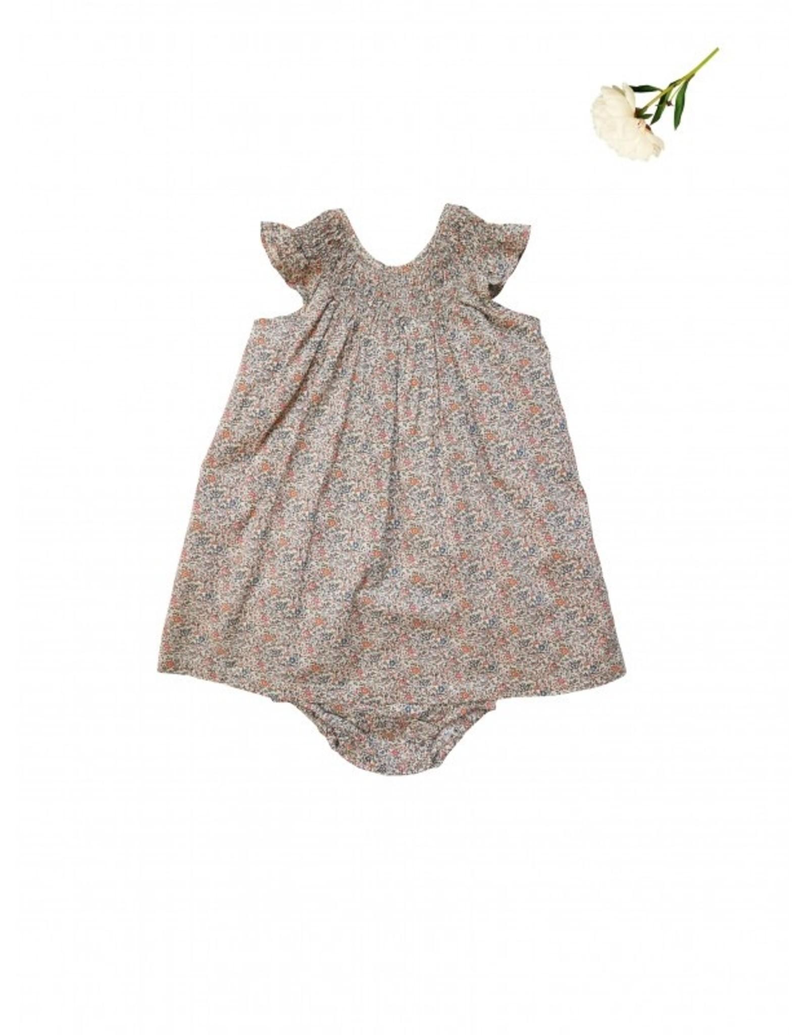 La Petite Collection Liberty Katie & Millie Gathered Dress