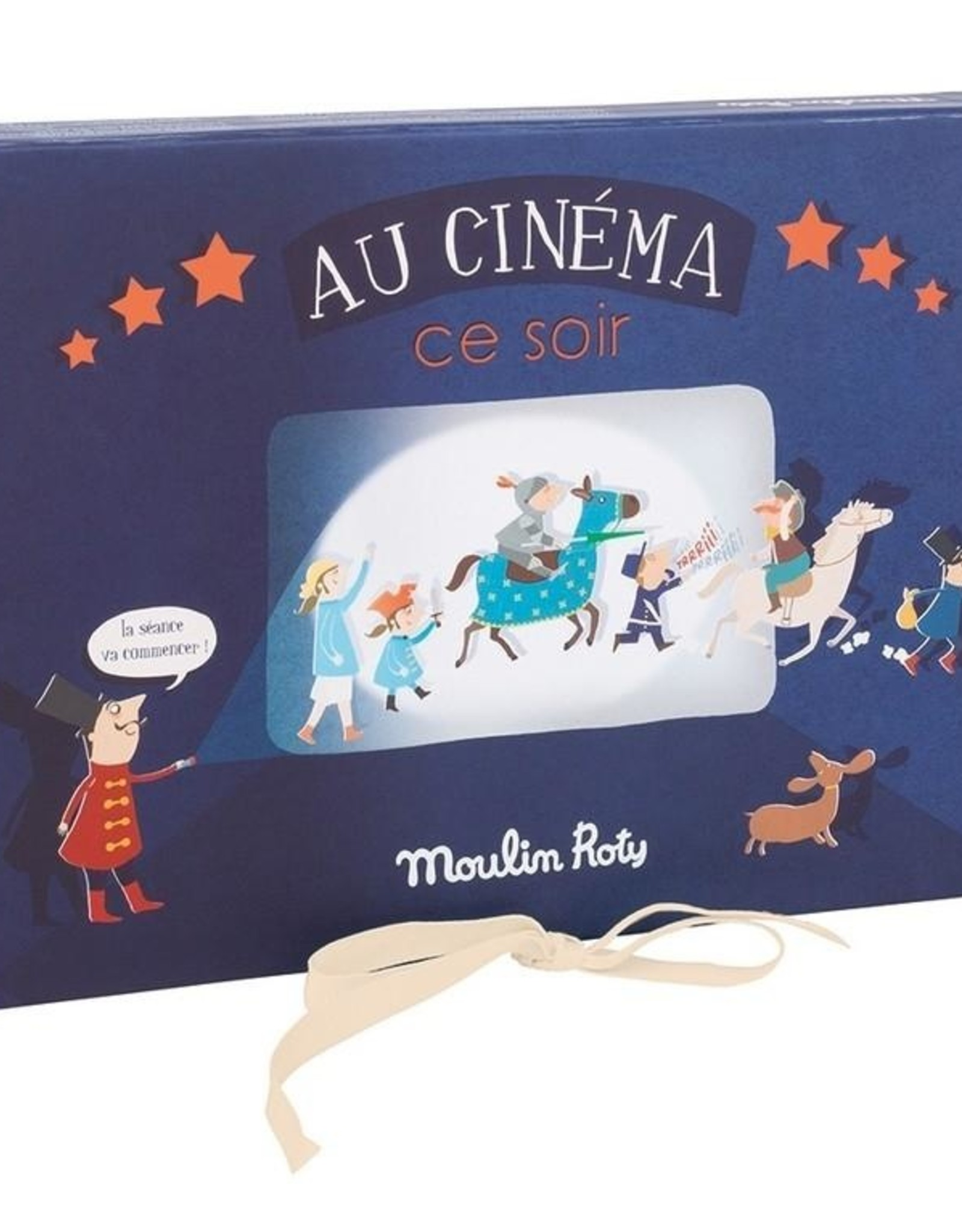 Moulin Roty Movie Night Set - Au cinéma ce soir!