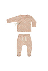 Quincy Mae Kimono Top & Footed Pant Set