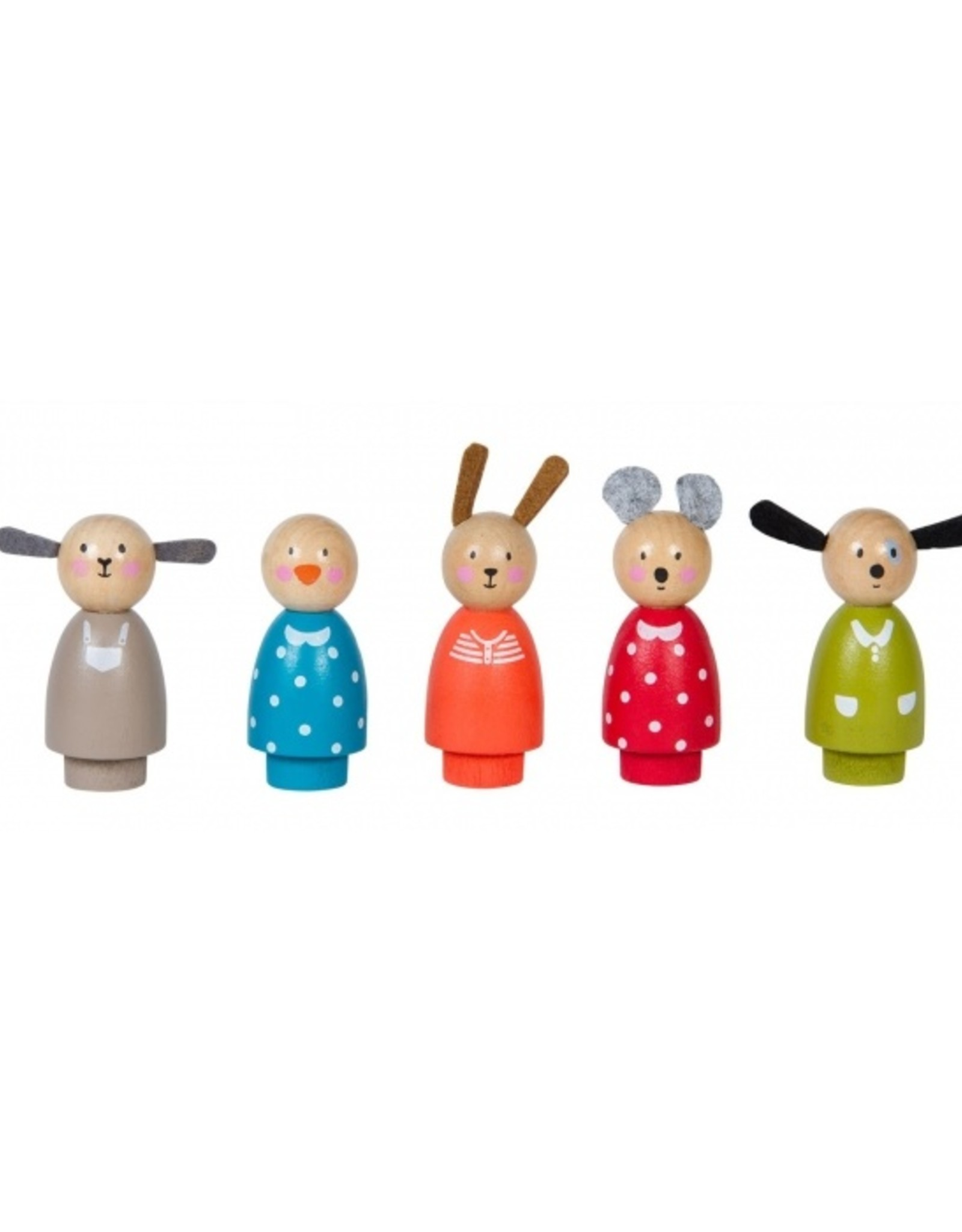 Moulin Roty Set of 5 characters