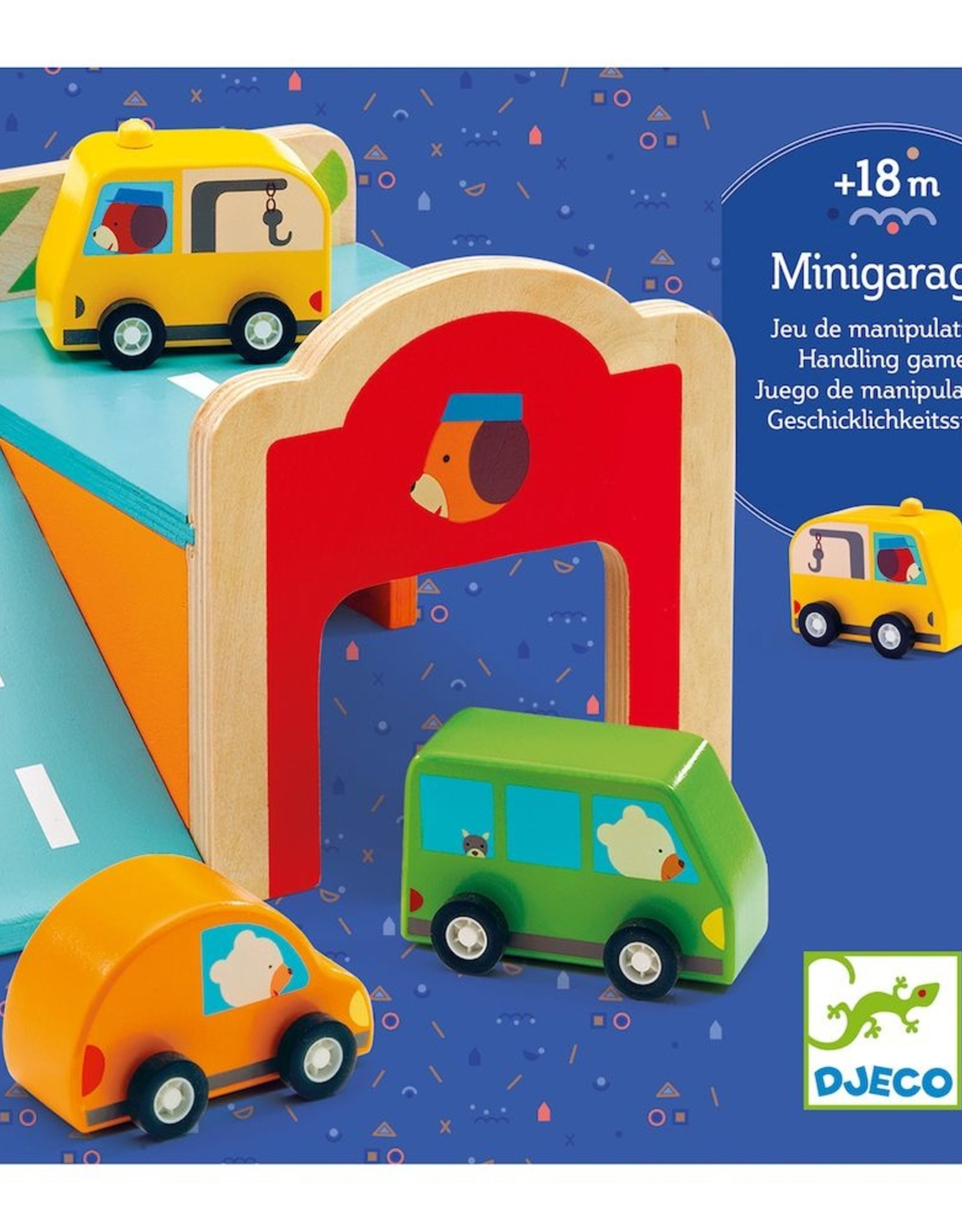 Djeco Wooden Mini Garage