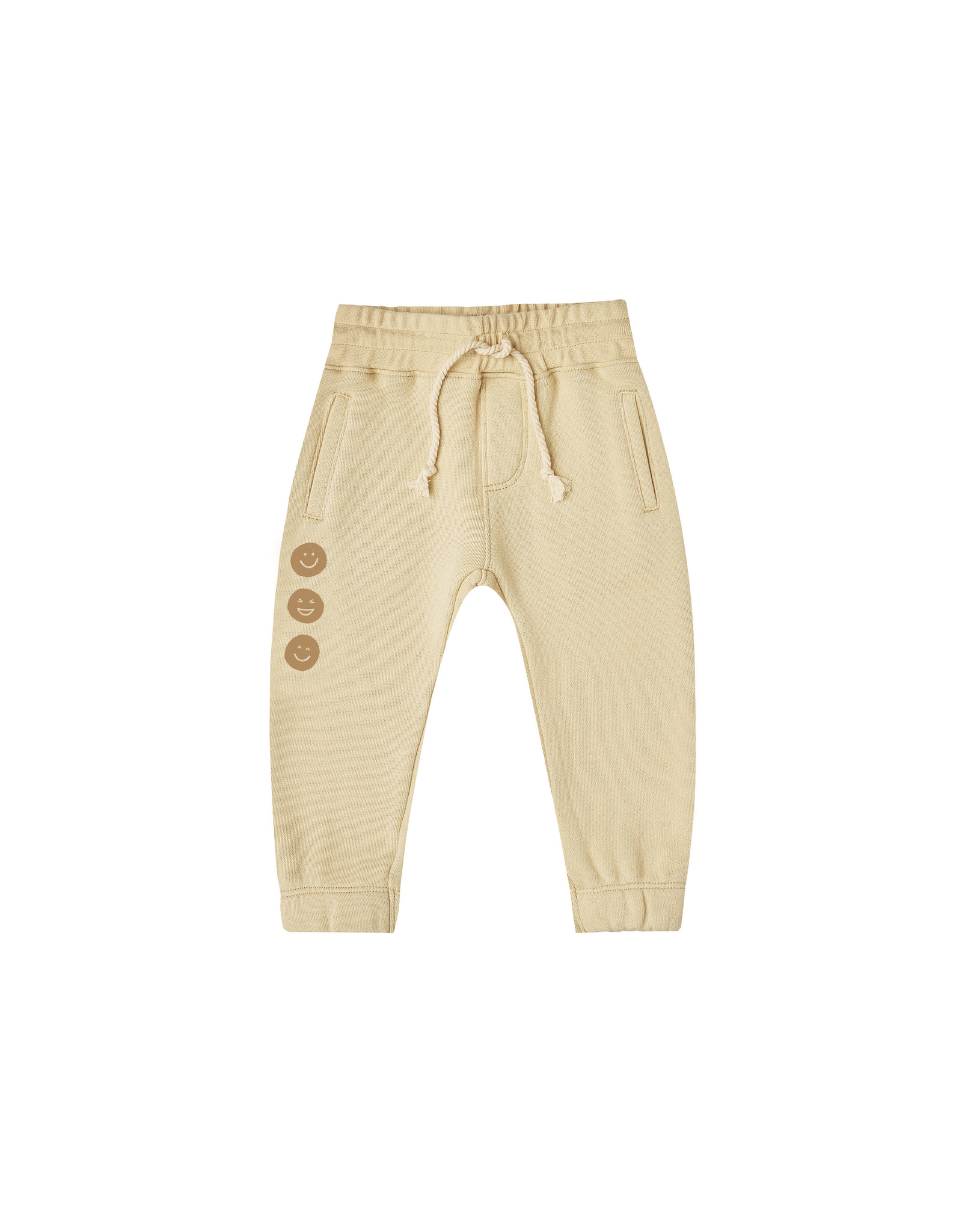 Rylee and Cru Happy Face jogger pant