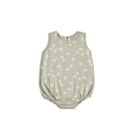 Rylee and Cru Daisy Confetti bubble onesie
