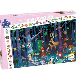 Djeco Observation Puzzle - Enchanted Forest