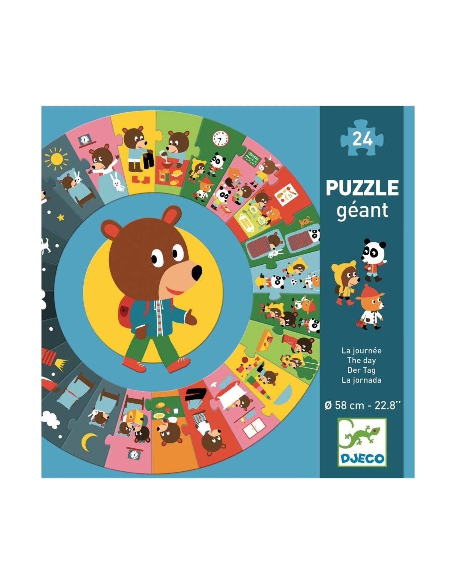 Djeco Big Puzzle The day