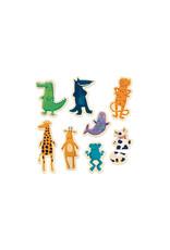 Djeco Crazy Animals Magnetic Game