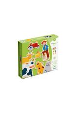 Djeco Farm Magnetic Game