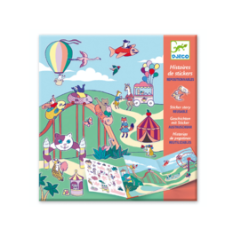 Djeco – Histoires de stickers – La fête foraine