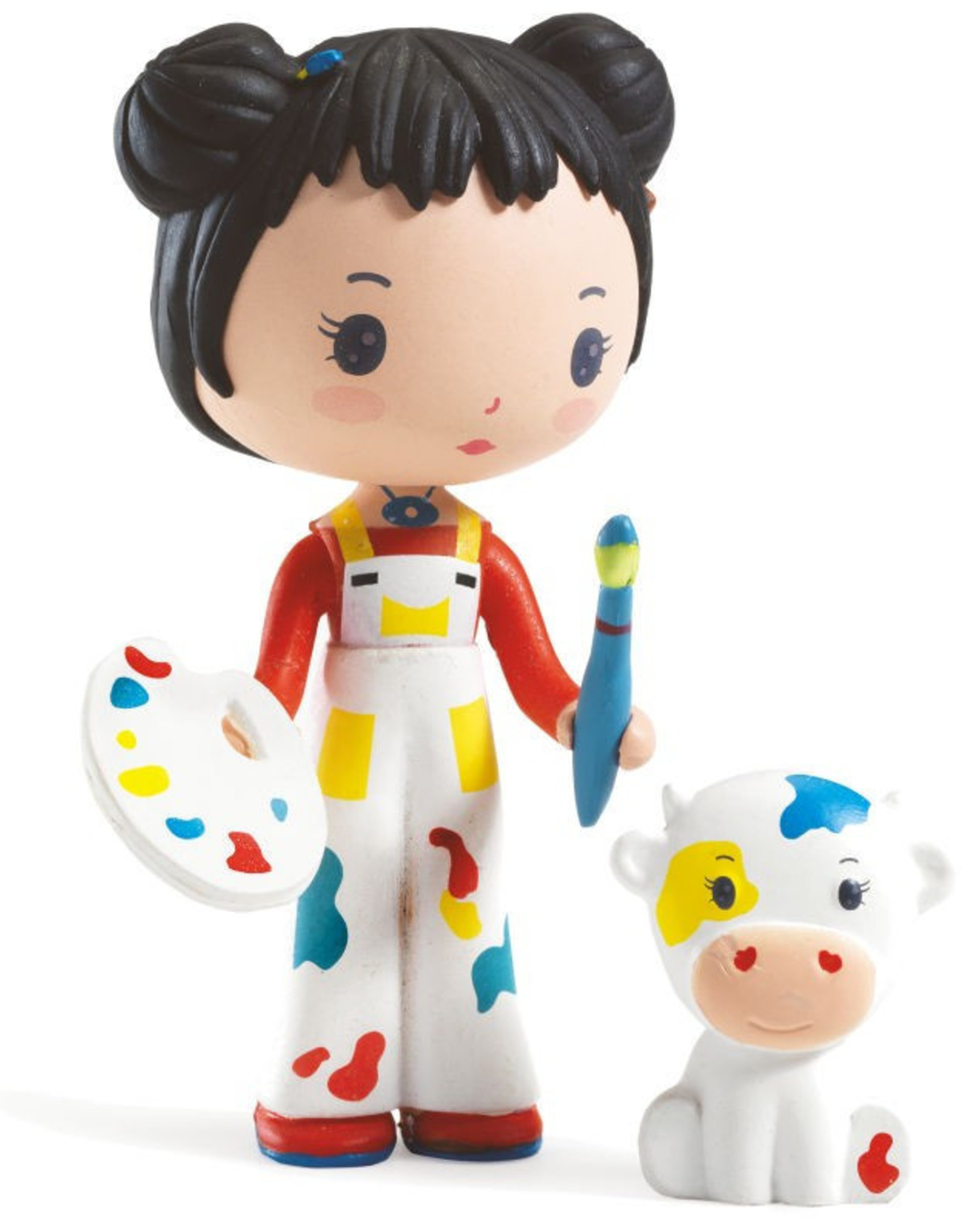 Djeco Barbouille et Gribs - Figurines Tinyly