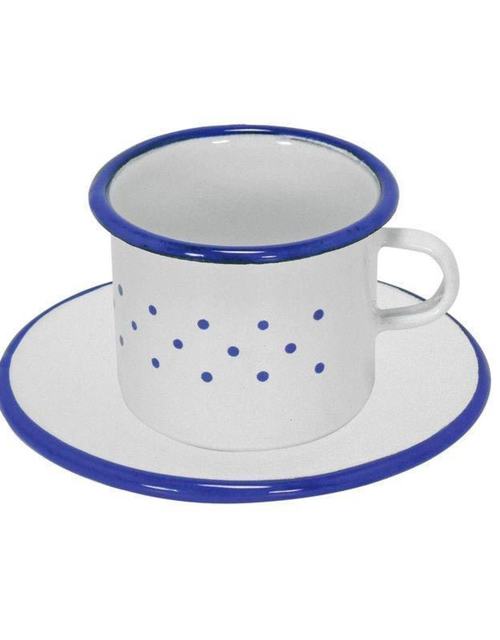 Gluckskafer Cup and saucer